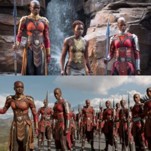 Two New Black Panther Spots Feature The Dora Milaje.