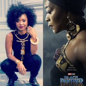 L.A.-Based Designer Douriean Fletcher Created the Jewelry for Black Panther.