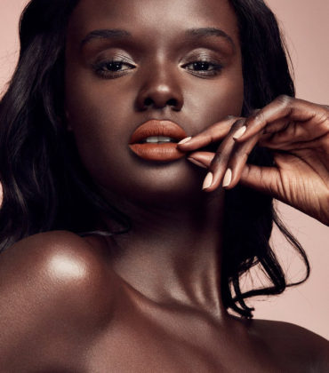 Images. Duckie Thot for Fenty Beauty.