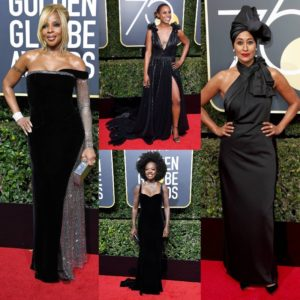 Red Carpet Rundown.  2018 Golden Globes Edition. Celebs Make A Statement.