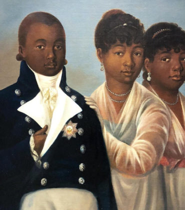 Lost Painting of Haitian King Goes on Exhibit.