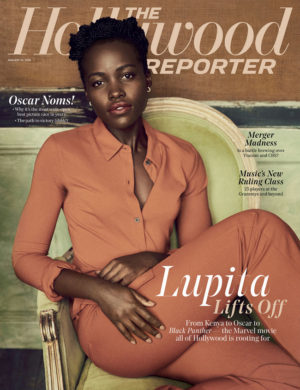 Lupita Nyong'o Covers The Hollywood Reporter.