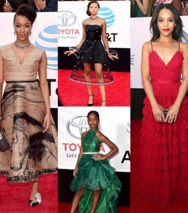 More Red Carpet Fashion at the 49th NAACP Image Awards