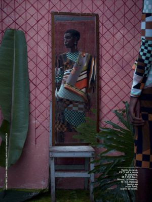 This Stunning Elle Brazil Editorial Was Inspired by Kerry James Marshall.