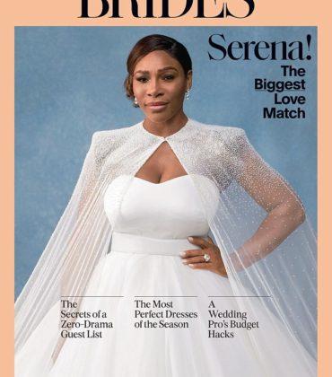 Serena Williams Covers Brides Magazine February/March 2018.