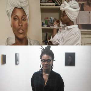 Netflix Features Tatyana Fazlalizadeh.  The Real Artist Behind Nola Darling's Work.