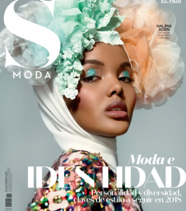 Editorials. Halima Aden.  S Moda February 2018.  Images by Greg Lotus.