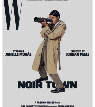Janelle Monaé Goes to 'Noir Town' for W Magazine.  Images by Collier Schorr.