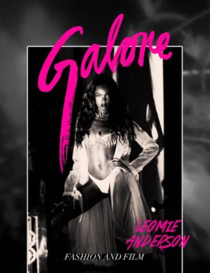Editorials. Leomie Anderson Covers Galore Magazine.