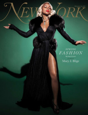 Mary J. Blige Covers New York Magazine.