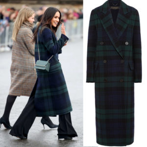 Meghan Markle Steps Out in a $2,895 Burberry Coat, But Breaks From Traditional Royal Style.