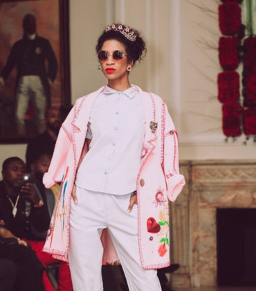 Prajjé O. Jean Baptiste Unveils 'EZILI' Collection at Haitian Embassy.