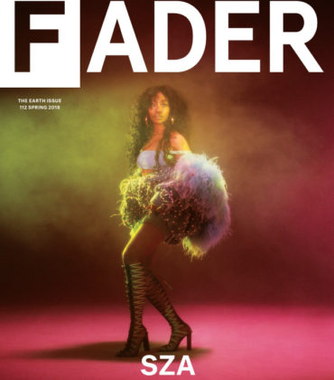 SZA Covers The Fader Spring 2018.  Images by Cara Stricker.