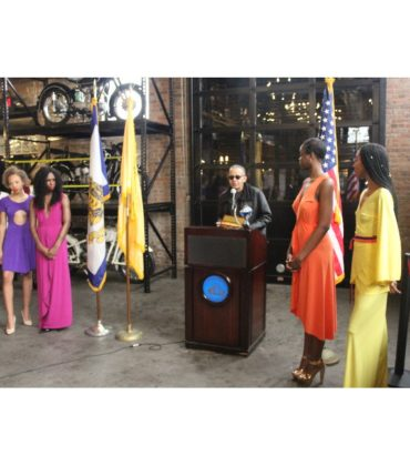 Iconic Designer Stephen Burrows Granted Keys to the City of Newark.