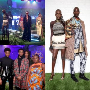 Marvel Studios Stages 'Welcome to Wakanda' Fashion Presentation.