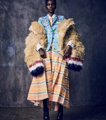 Editorials.  Aamito Lagum.  Mixte Spring/Summer 2018.  Images by Matthew Brookes.