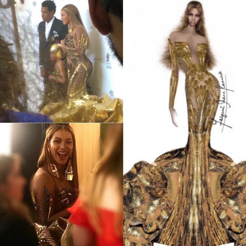 Beyonce Wearable Art Gala