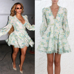 Beyoncé Attends The Premiere of 'A Wrinkle in Time' in Zimmermann.