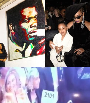 Meet Tiffanie Anderson. The Artist Behind the $20,000 Painting Blue Ivy Bid On.