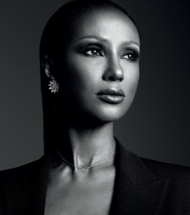 Editorials. Iman. Interview Magazine March 2018.  Images by Hedi Slimane.
