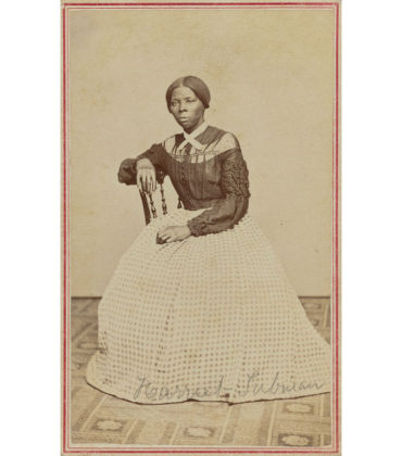 Lost Image of Harriet Tubman Discovered.