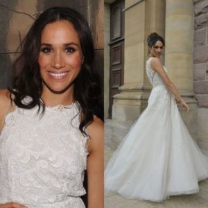 Meghan Markle's Wedding Dress is Rumoured to Cost Over 500k.