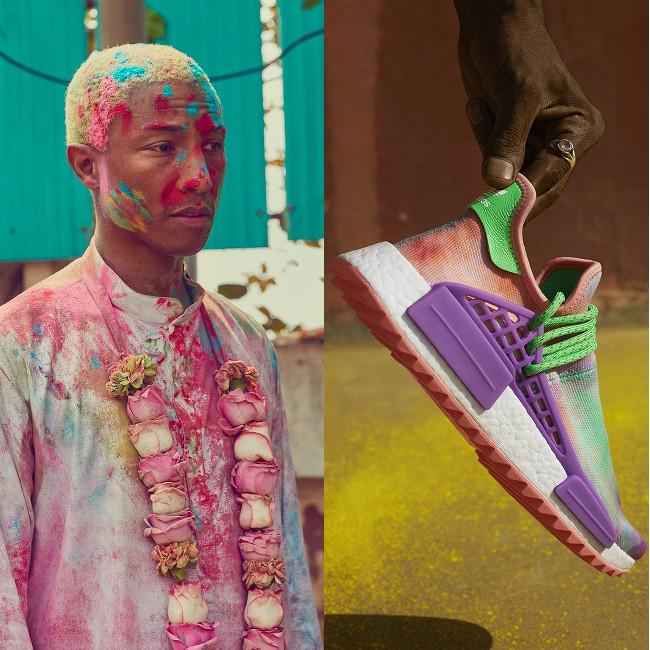 Pharrell Adidas Hu Holi