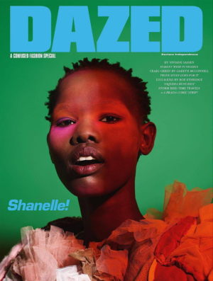 Editorials. Shanelle Nyasiase.  Dazed Spring 2018.  Images by Viviane Sassen.