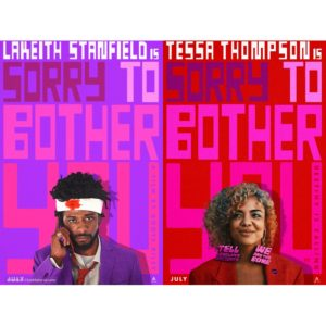 Trailers. Lakeith Stanfield and Tessa Thompson Star in 'Sorry to Bother You.'