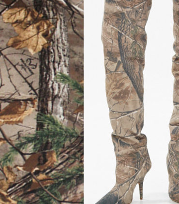 Kanye West Faces Lawsuit Over Copied Camo Print.
