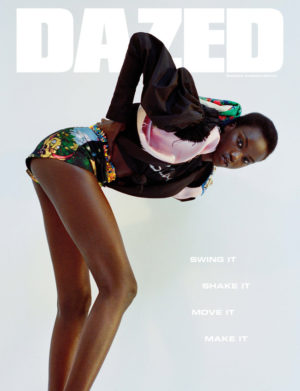 Anok Yai Features on a Special Edition Cover of 'Dazed.'