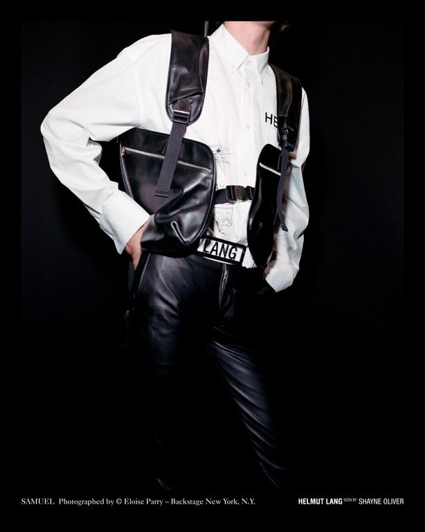 Helmut Lang Seen By Shayne Oliver