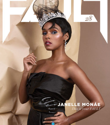 Janelle Monaé Covers FAULT Magazine.  Images by David Yeo.