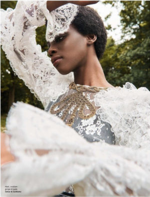 Editorials. Maria Fofana. Grazia.  Images by Louis Christopher.