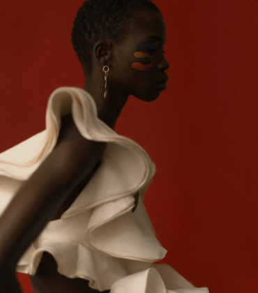 Editorials. Nykhor Paul.  Le Mile Magazine #24.  Images by Franco Schicke.