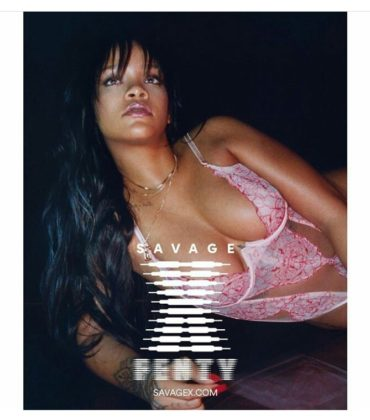 Rihanna Posts (and then deletes) Lingerie Line Preview.