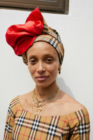 Adwoa Aboah Goes to Ghana for Burberry Autumn/Winter Pre-Collection.