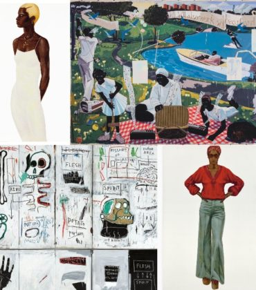Black Artists Bring in Millions at Auction.