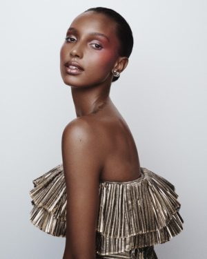 Editorials. Jasmine Tookes. ELLE May 2018.  Images by Tom Schirmacher.