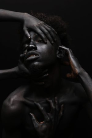 Images.  Yannis Davy Guibinga Explores the Color Black.