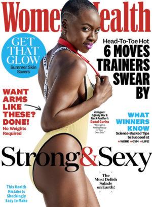 Danai Gurira Covers Women's Health July/August 2018. Images by Ben Watts.