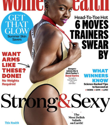 Danai Gurira Covers Women's Health July/August 2018. Images by Ben Watts.
