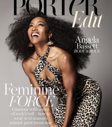 Editorials.  Angela Bassett.  The Edit July 2018.  Images by Paola Kudacki.