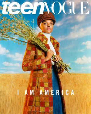 Halima Aden Covers Teen Vogue July 2018.  Images by Scandebergs.
