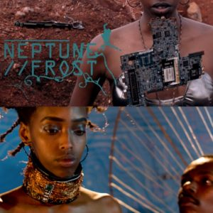 This Afrofuturist Film is Set in an Otherworldy Village Made of Recycled Computer Parts.