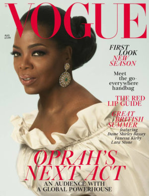 Oprah Covers British Vogue August 2018.  Images by Mert and Marcus.