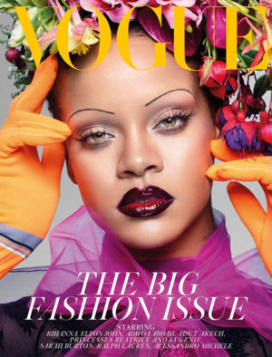 Rihanna Covers British Vogue's September 2018 Issue.