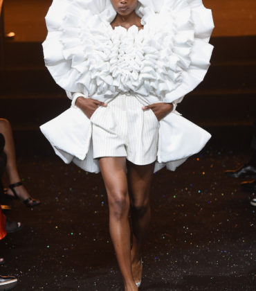 On the Runway. Viktor & Rolf. Fall 2018 Couture.