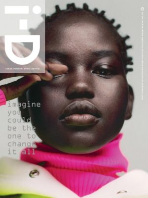 Editorials. Adut Akech.  i-D Magazine Fall 2018.  Images by Campbell Addy.
