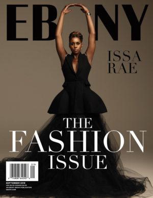 Issa Rae Covers EBONY Magazine's September Issue.